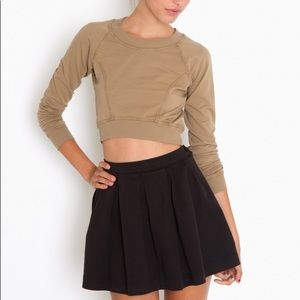 Nasty Gal Black Mini Skirt